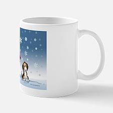 snowmanbeaglecard Mug