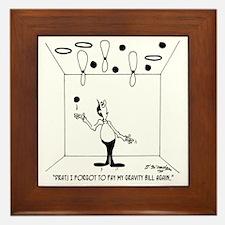 6631_juggling_cartoon Framed Tile