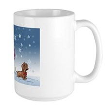 snowmandoxie card Mug
