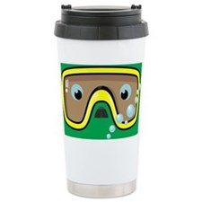 goggle_mpad_green_N Travel Coffee Mug