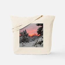Winter Glow Tote Bag