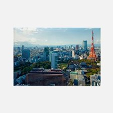 Tokyo Tower Rectangle Magnet