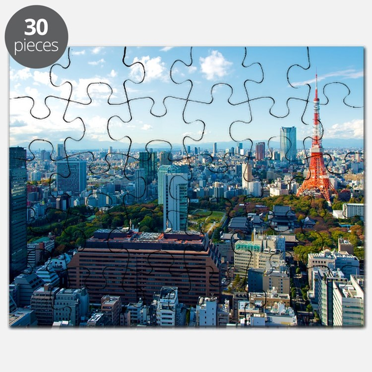 Tokyo Tower Puzzle