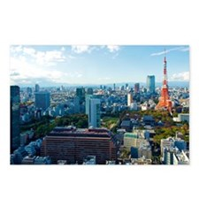 Tokyo Tower Postcards (Package of 8)