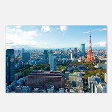 Tokyo Tower Landscape Postcards (Package of 8)