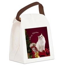 LindenRound Ornament Canvas Lunch Bag