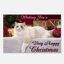 Linden Christmas Card Postcards (Package of 8)
