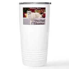 Linden Christmas Card Travel Mug
