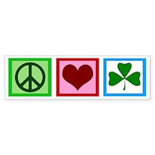 peaceloveirishwh Bumper Sticker