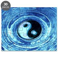 largewallclock2_yinyang Puzzle
