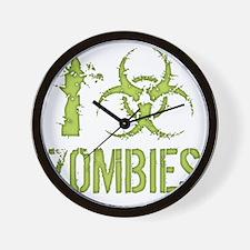 i-bio-zombies-T Wall Clock