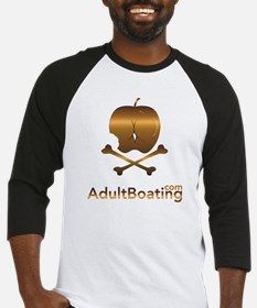 AdultBoating_logo_vertical Baseball Jersey