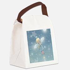little star angel cp Canvas Lunch Bag