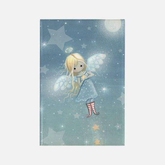 little star angel cp Rectangle Magnet