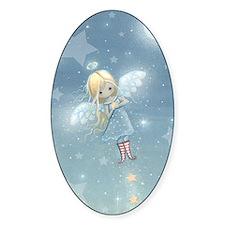 little star angel cp Decal