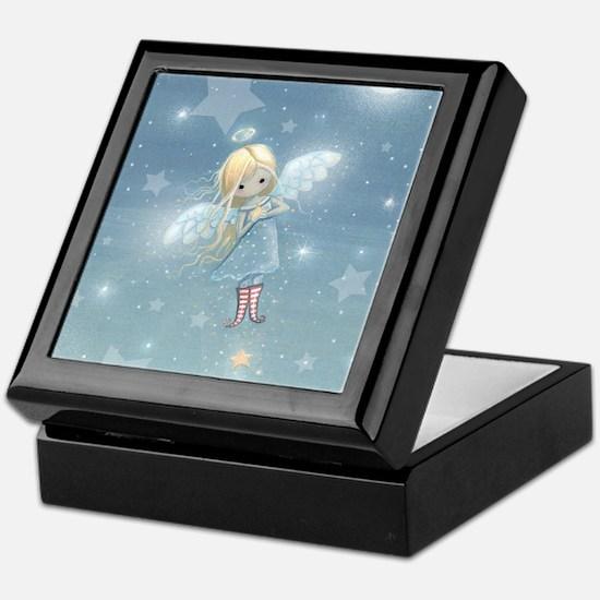 little star angel cp Keepsake Box