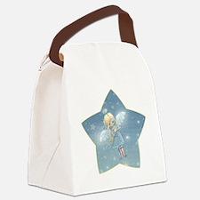little star angel star Canvas Lunch Bag