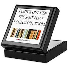 Check out men and books Keepsake Box