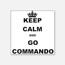 KEEP CALM AND GO COMMANDIO Sticker