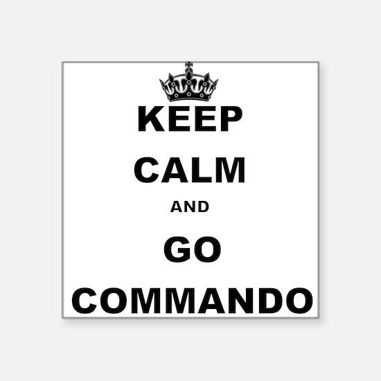 KEEP CALM AND GO COMMANDIO Sticker