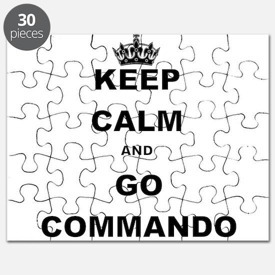 KEEP CALM AND GO COMMANDIO Puzzle