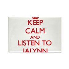 Keep Calm and listen to Jalynn Magnets