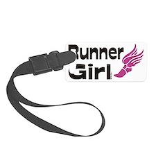 runner girl Luggage Tag