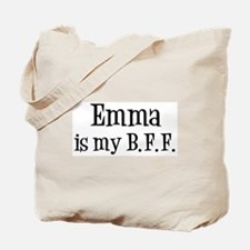 Emma is my BFF Tote Bag