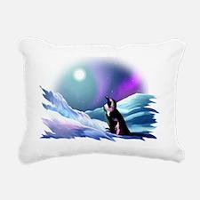 fade Rectangular Canvas Pillow