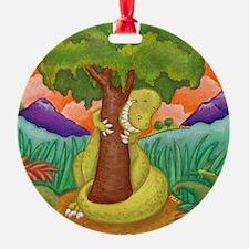 T-Rex Squeeze-A-Tree! Ornament