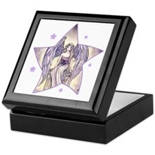 angels perch star Keepsake Box