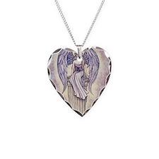 angels perch gcu Necklace Heart Charm