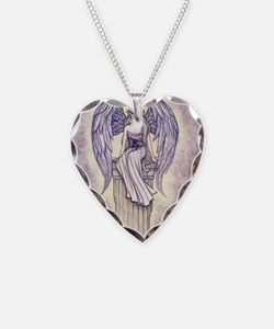 angels perch gcu Necklace Heart Charm