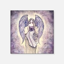 """angels perch square Square Sticker 3"""" x 3"""""""