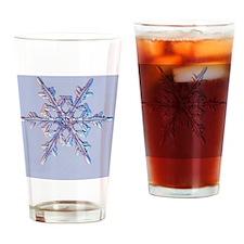 Holiday Ornamant - Snowflake Drinking Glass