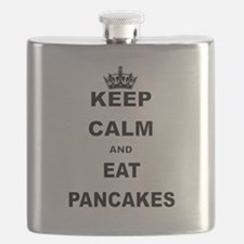 KEEP CALM AND EAT PANCAKES Flask