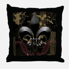 fleurdelis2 Throw Pillow
