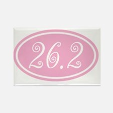 26.2.frivolity.pinkclear Rectangle Magnet