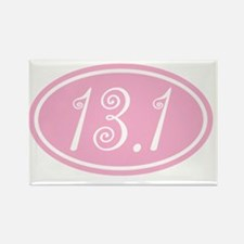13.1.frivolity.cleartext.pink Rectangle Magnet