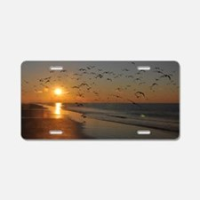 beach-calendar2012-earlybir Aluminum License Plate