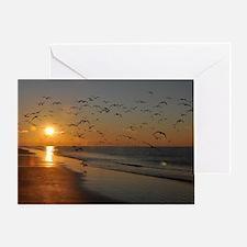 beach-calendar2012-earlybirds Greeting Card