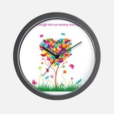 Tough Mommy Wall Clock
