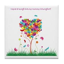Tough Mommy Tile Coaster