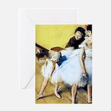 K/N Degas DanceEx Greeting Card