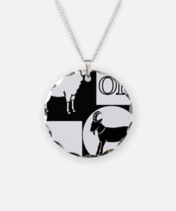 Sheep or Goat silhouette Necklace