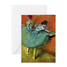 iPad S Degas Barre Greeting Card