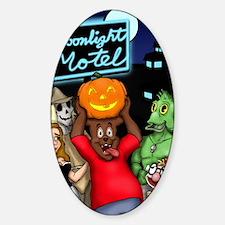 Moonlight Merchandise First Hallowe Sticker (Oval)
