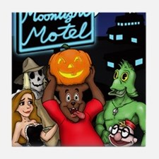 Moonlight Merchandise First Halloween Tile Coaster