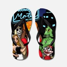 Moonlight Merchandise First Halloween Flip Flops