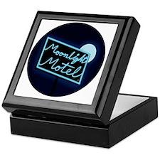 Moonlight Merchandise Circle Keepsake Box